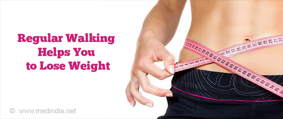 Walking Helps to Maintain Body Weight