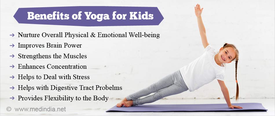 Ways in Which Kids can Benefit from Yoga
