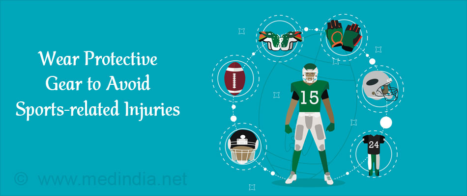 Wear Protective Equipments to Avoid Sports Related Injuries