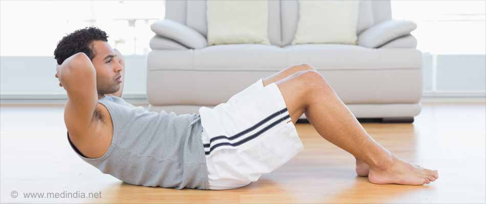 Top Workouts for Teens: Crunches