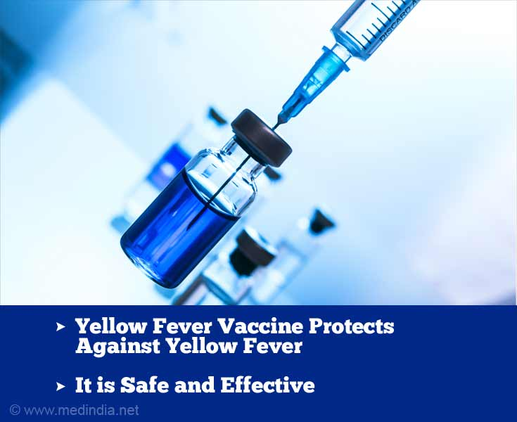 Yellow Fever Vaccine Protects Against Yellow Fever