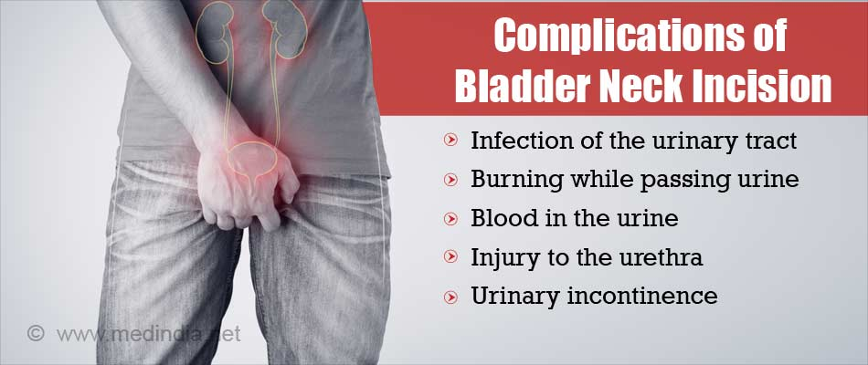 Complications of Bladder Neck Incision
