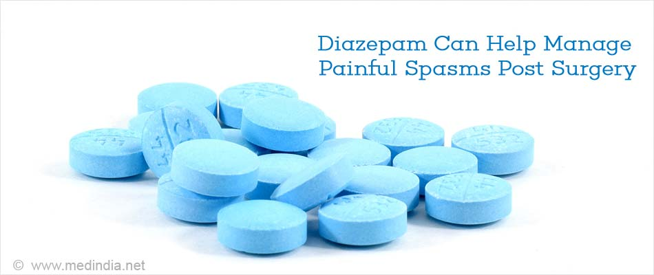 Diazepam Can Help Manage Painful Spasms Post Surgery