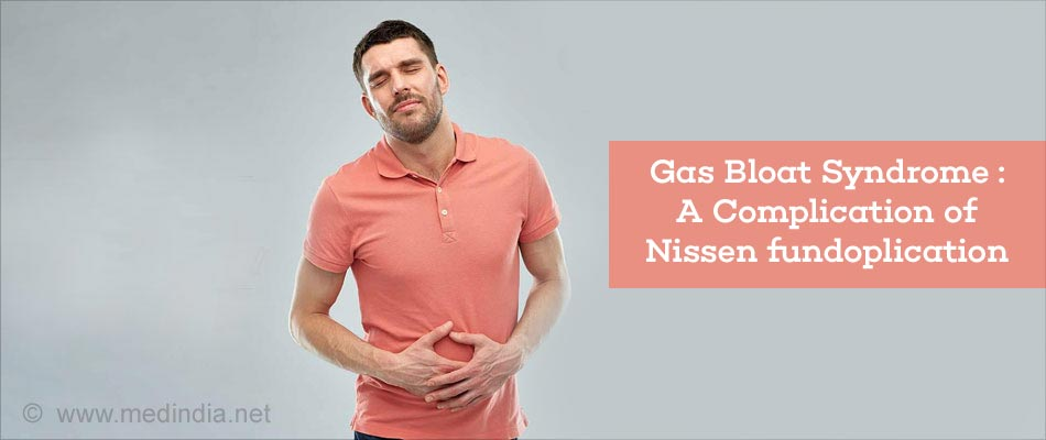 Gas Bloat Syndrome : A Complication of Nissen fundoplication