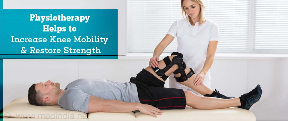 Physiotherapy Helps to Increase Knee Mobility & Restore Strength