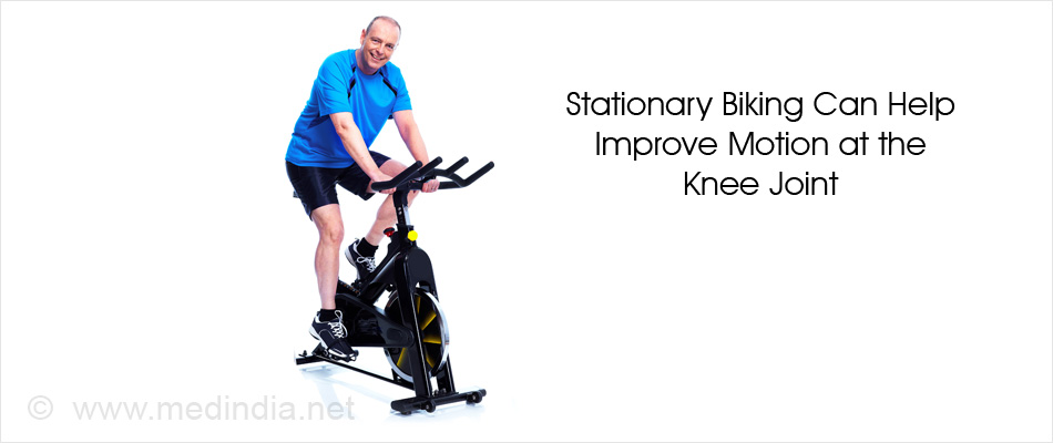 Stationary Biking Can Help Improve Motion at the Knee Joint