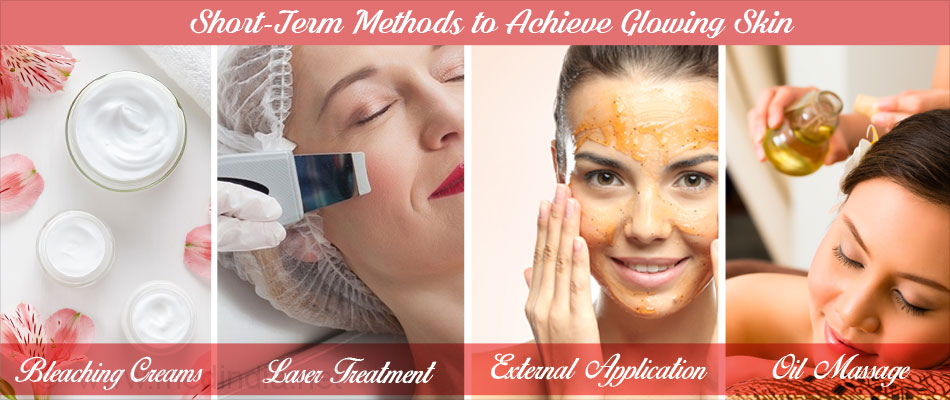 Short-Term Methods to Achieve Glowing Skin