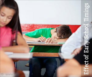 Early School Timings Can Add Stress on Learning and Health of Students