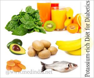 Diabetics Benefit with Food Rich in Potassium