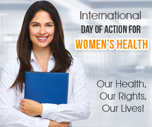 International Day of Action for Women�s Health-28th May