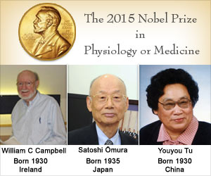Nobel Prize 2015 in Medicine Awarded for Novel Therapies Against Parasitic Diseases