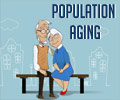 Population Aging - Infographics