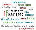 Causes of Hair Loss - Causes of Hair Loss