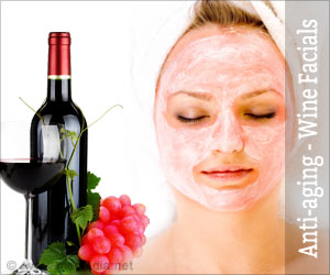 Anti-Aging Treatment with Vinotherapy or Wine Facials