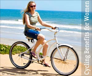 Health Benefits of Cycling For Women