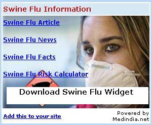 Swine Flu Widget