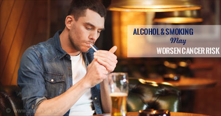 Alcohol and Smoking Multiply the Risk for Cancer