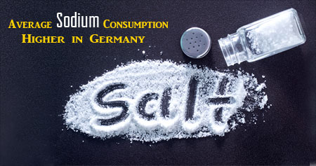 Sodium Intake in Germans Measured from Sodium Excreted in Spot Urine Samples