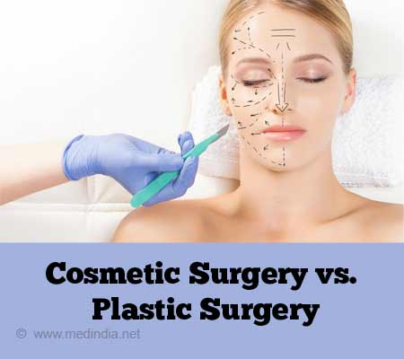 Cosmetic Surgery vs. Plastic Surgery