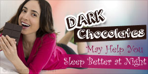 Longing for a Good Night�s Sleep? Dark Chocolate Could Be The Answer!