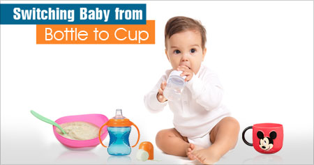 Switching Baby from Bottle to Cup
