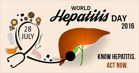 World Hepatitis Day 2016: �Know Hepatitis. Act Now�