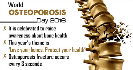 World Osteoporosis Day 2016 -  Love Your Bones, Protect Your Health