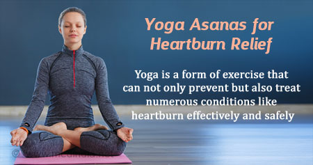 Top 5 Yoga Asanas to Relieve You from Heartburn
