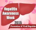 Hepatitis Awareness Week 2015