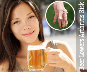 Drinking a Glass of Beer may Actually Lower Rheumatoid Arthritis Risk