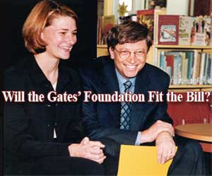 Will the Gates' Foundation Fit the Bill?