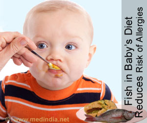 Fish in Baby�s Diet Reduces Risk of Allergies Later in Life