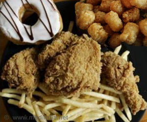 Deep Fried and Processed Foods and Sugary Drinks Increase Stroke Risk