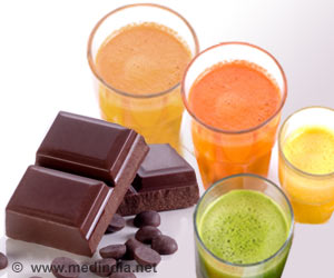 Stage Set for Low Fat, Low Sugar Chocolate Powered with Fruit Juices