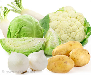 Potatoes and Cabbage Alleviate Stomach Cancer Risk
