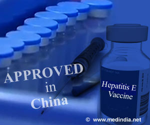 First Hepatitis E Vaccine Approved in China