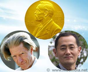 Winners of Nobel Prize in Physiology or Medicine 2012: John B. Gurdon and Shinya Yamanaka