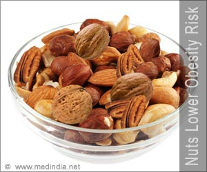 Eat Nuts to Lower Risks of Obesity and Metabolic Syndrome