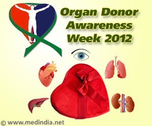 Organ Donor Awareness Week 2012 - 'Gifting Life'