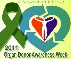 "Organ Donor Awareness Week – 2011- ""Your Chance to Save Many Lives"""