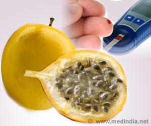 Yellow Passion Fruit Peel Flour Good for Diabetics
