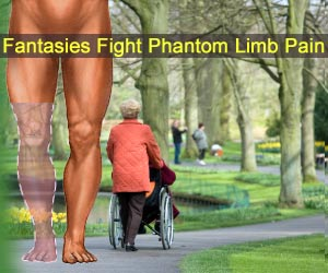 Fantasies Fight Phantom Limb Pain