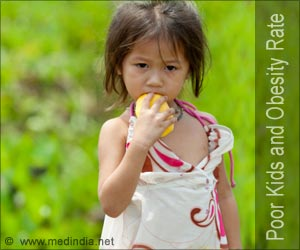 Poor Children Show a Decline in Obesity