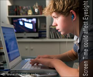 Excessive Screen Time Could Affect Eyesight