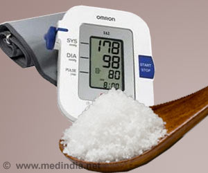Blood Pressure Levels in Children Affected by Sodium Intake