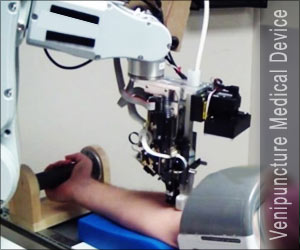 Robots may be Used for Blood Draws or the Placement of IV Lines