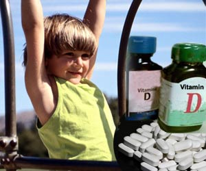 Vitamin D Supplements may Help Overcome Osteoporosis and Fractures in Children
