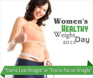 Women's Healthy Weight Day 2015