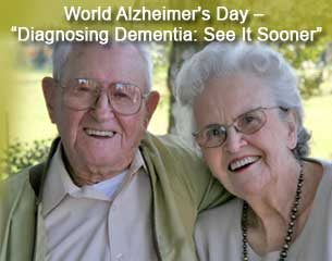 World Alzheimer's Day –