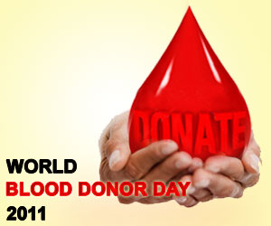 World Blood Donor Day - 2011